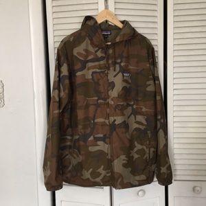 Patagonia camo jacket